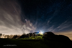 Notturno_Perduca1 (pietro.photo) Tags: longexposure sky mountain color church night stars cremona apennines travo perduca pietrodiotti