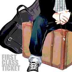 FirstClassTicket3 (Fronz Arp) Tags: music heart guitar gimp first australia ticket brisbane class suitcase arp songwriter fronz