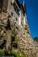 Bran Castle West Wall (Askjell's Photo) Tags: tower castle monster blood vampire ghost medieval dracula queen romania bite undead fangs ro fortress brasov vlad impaler bran middleage tepes hounted judeulbraov