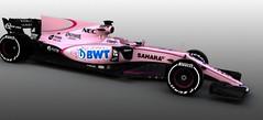 'Checo' Pérez estrenará carro rosa en el 'Grand Prix' australiano (Foto) (conectaabogados) Tags: 'checo' 'grand australiano carro estrenará foto pérez prix' rosa