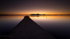 Dawn (Mika Laitinen) Tags: canon5dmarkiv europe leefilters mallorca spain calm color dawn landscape longexposure ocean outdoor sea seascape serene shore sky sunrise water winter pollença illesbalears es