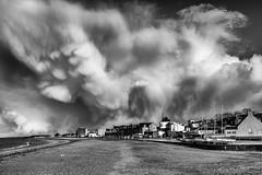 Fisherrow Storm Clouds (Ronan_C) Tags: beach clouds eastlothian musselburgh seaside sky sony2870mm sonya7mk2 sonya7m2 springshowers squall stormy fisherrow cloudsstormssunsetssunrises
