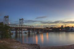 Before Night Falls (S♡C) Tags: sunset twilight river riverside landscape bluehour parramattariver rydebridge evening sydney