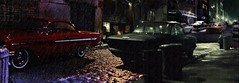 Cold Night (gpholtz) Tags: diorama miniatures 118 diecast 1961 impala