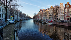Amsterdam. (alamsterdam) Tags: amsterdam keizersgracht architecture canal reflections facades holland northholland