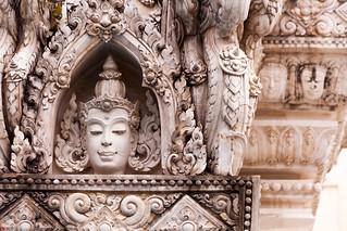 Goddess in the Wat Kanmatuyaram (Wat Yo Khan Tue) temple