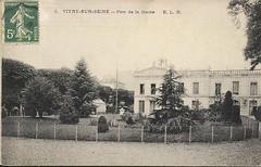 formidable-CPA-Vitry-sur-Seine-Parc-de-la-Mairie (gpmetropole) Tags: cpa vitry port à l anglais edf centrale electrique ardoines