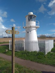 East Usk Lighthouse (alexliivet) Tags: lighthouse beacon navigation newport monmouthshire wales cymru uk walescoastpath newportwetlands