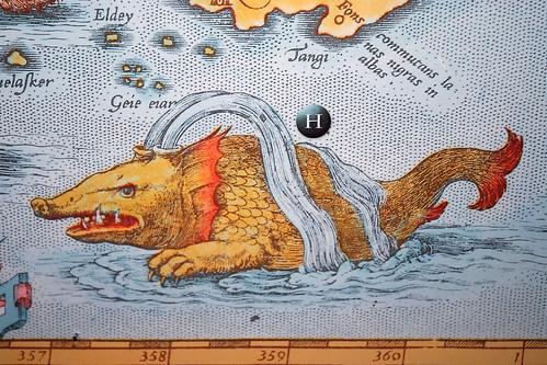 alte Wal Darstellung