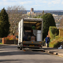 Removals (WHO 2003) Tags: guildford guildfordcathedral removals lorry