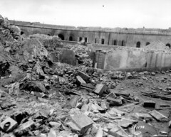 p013337 (PhotosNormandie) Tags: secondeguerremondiale wwii ww2 battleofnormandy ruine fortflamands cherbourg manche