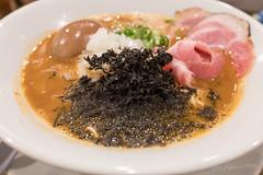 ふじやま 辛にぼしそば (GenJapan1986) Tags: 2017 ふじやま ラーメン 仙台市 宮城県 日本 japan ramen food miyagi fujifilmx70