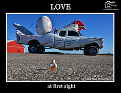 LOVE AT FIRST SIGHT (76 Minds) Tags: humor toys lego creative starwars funny geek