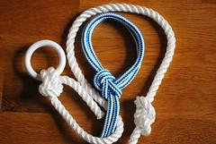 Seemannsgarn: Knoten ~ Knots (Frau D. aus D.) Tags: tau knoten flickfriday knot rope sail sailing sailor segeln seemann maritim