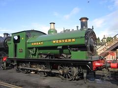 IMG_3979 - GWR Hudswell Clarke Saddle Tank 813 (SVREnthusiast) Tags: severnvalleyrailway svr severnvalley severn valley railway