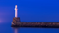Long Blue.jpg (___INFINITY___) Tags: 6d aberdeen harbour blue bluehour canon darrenwright dazza1040 eos infinity longexposure scotland sea seascape southbreawater
