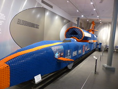 Bloodhound SSC,  P1070189 (LesD's pics) Tags: cars coventrytransportmuseum recordbreakers landspeed