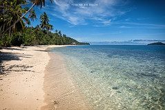 Indonesia - Raja Ampat: Sunday morning at Manyaifun (Day 6 of 14) (Exper!ence it) Tags: indonesia raja ampat islands walking waigeo reef coral paradise beach nature light sun nikond300 1635mm