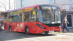 P1490834 1259 YY66 PZF at Wood Street Station Wood Street Walthamstow London (LJ61 GXN (was LK60 HPJ)) Tags: ctplus hackneycommunitytransportgroup enviro200 enviro200d enviro200mmc enviro200dmmc e200d mmc majormodelchange 1259 yy66pzf g26922
