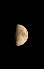 Shoot for the Moon (thatswhatashleysaid) Tags: moon craters nightsky halfmoon final2 6thphoto thatswhatashleysaid