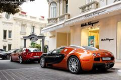 Bugatti Veyron & Ferrari FF (Reivax Autos) Tags: russia ferrari monaco hermitage bugatti ff supercar spotting veyron