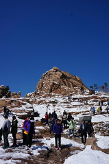 Seoraksan National Park - peak of Gwongeumseong (H.e.l.e.n.) Tags: winter snow mountains rocks rocky korea seoraksan gwongeumseong trip2013