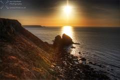Basset's Cove (Ian Garfield - thanks for over 1 Million views!!!!) Tags: sunset sea cliff sun southwest photography coast cornwall cove basset hdr bassett cornish bassets iangarfield