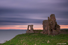 Newark Castle, Fife (Kit Downey) Tags: uk sea seascape castle st coast scotland long exposure fife ruin scottish historic coastal filter nd kit newark downey monans ndx1000