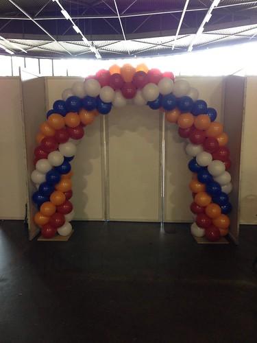 Ballonboog 6m NK Gymnastiek Ahoy Rotterdam