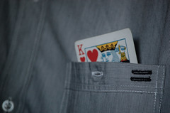 134/365 (Victor Von Dooom) Tags: shirt nikon king 365 kingcard d40 carddeck shirtpocket 365project