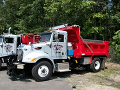 Township of Holmdel, NJ 2009 Peterbilt 340 plow-dump No. 14 (JMK40) Tags: truck allison town highway nj dumptruck dump government plow department holmdel municipal township peterbilt 340 sander paccar px8