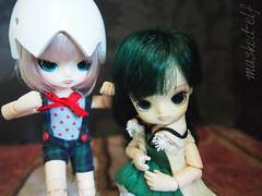 Munchkins (tempest-elf) Tags: doll dolls little dal mini pullip humpty dumpty capricornus obitsu maskedelf tempestelf