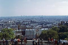 View from Sacre Coeur (SteveOwen52) Tags: paris 1971 montmartre sacrecoeur