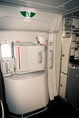 Main deck door on the Airbus A380
