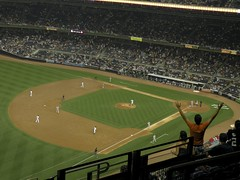 David Robertson Gets a Big 9th Inning Strikeout (MattBritt00) Tags: nyc newyorkcity ny newyork sports fan losangeles al baseball stadium bronx angels borough cheer anaheim yankees yankeestadium ballpark mlb americanleague bronxbombers baseballstadium majorleaguebaseball losangelesangelsofanaheim davidrobertson yankeestadiumii