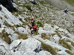 Escursionismo Gran Sasso - Grotta del Capraro