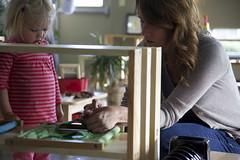 Dressing Frame Action (Baan Dek) Tags: nonfeature teacher teaching