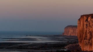 Two cliffs -Three for a sunset walk in gorgeous nature