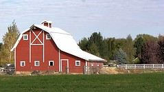 Red Barn (Lauren P. Arfman) Tags: red barn farming gamewinner challengefactorywinner thechallengefactory