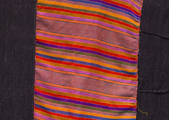 Khmu Minority Cloth, Xieng Khouang, Laos (Eric Lafforgue) Tags: horizontal outdoors asia southeastasia day nobody nopeople multicolored laos ethnic minority developingcountries ethnicity traveldestinations colorimage xiengkhouang colourimage indigenousculture frenchindochina ethny kammu frenchprotectorate provincedechiangrai a1213791
