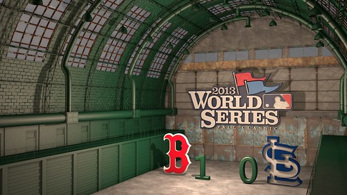 "World Series 2013 - Game One • <a style=""font-size:0.8em;"" href=""http://www.flickr.com/photos/97803833@N04/10455380724/"" target=""_blank"">View on Flickr</a>"