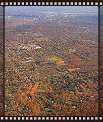 Hartford from Afar (newenglandgal) Tags: fall plane view ct foliage lookingdown cr southwestairlines iphone odc
