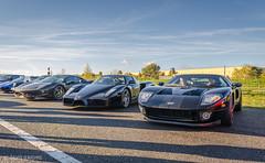 Ford GT, Ferrari Enzo and Ferrari 458 Italia (d-harding) Tags: cars ford nikon italia ferrari enzo gt 458 sundayservice pistonheads d5100 nikond5100 nikonnikkorafs1855mmdxvr