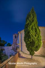 Siurana (Nicolas Moulin (Nimou)) Tags: plaza espaa luces pueblo nocturna provincia catalua tarragona calles siurana pavimiento