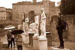 statue (BigZoic) Tags: rome roma church statue italia prayer monk musee cesar italie jule priere prete eglisse
