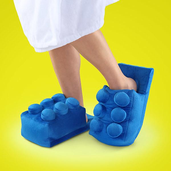 愛積木成癡就要來雙積木拖鞋啦!