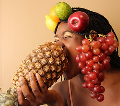 03617 (JennaCitrus) Tags: red orange apple colors yellow fruit lemon bright pineapple grapes lime chicita