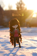 This not the end... (Lady Alec) Tags: winter light sun snow this is maddie doll end pullip