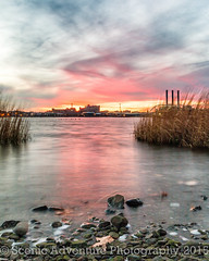 Bold Point Park (Southern New England Photography) Tags: park bridge fall beach water skyline canon buildings unitedstates shoreline parks newengland providence rhodeisland northamerica sigmalens boldpointpark sigma1020mm456dchsm eos70d nikcollectionbygoogle