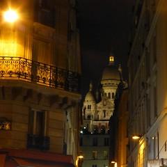 Paris balad bynight: Montmartre- Basilique du Sacr-Cur (valkiribocou) Tags: paris balade baladeparisienne serrisbalad randobalade